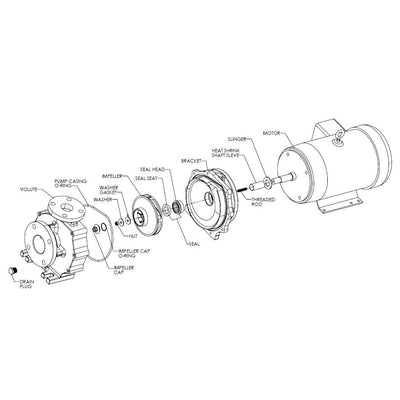 Sequence® Titan Pump Replacement Parts