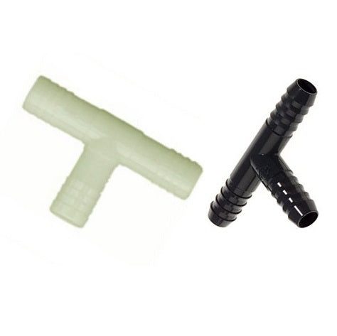 PVC Insert Tee with Barb Fittings