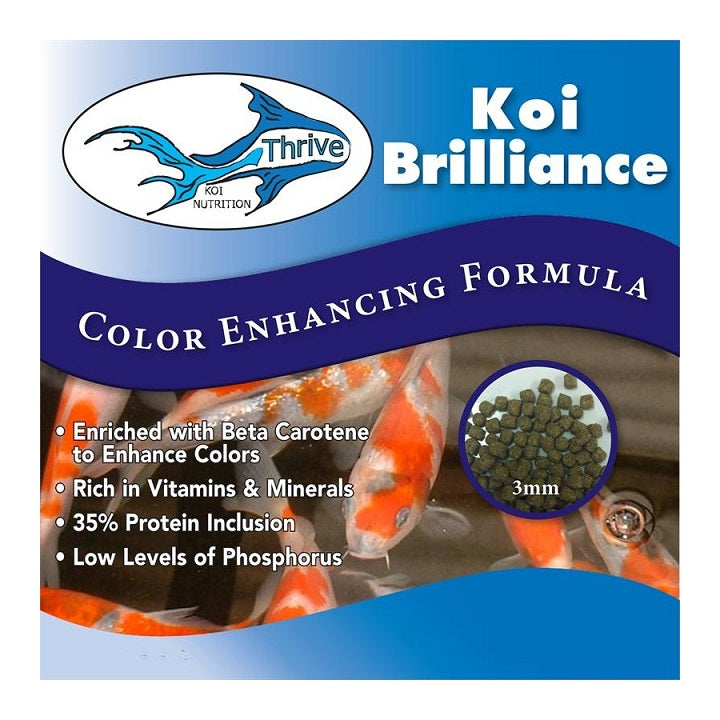 Anjon Manufacturing Thrive Koi Brilliance Color-Enhancing Formula Koi Food