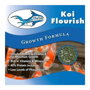 Anjon Manufacturing Thrive Koi Flourish Growth Formula Fish Food