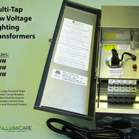 Features of Illumicare Multi-Tap Toroidal 12V Lighting Transformers