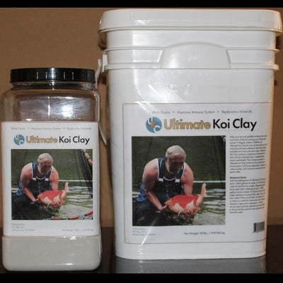 Ultimate Koi Clay, 100% All Natural Bentonite Clay