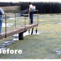 Lake before using Diversified Waterscapes F-30 Algae Control