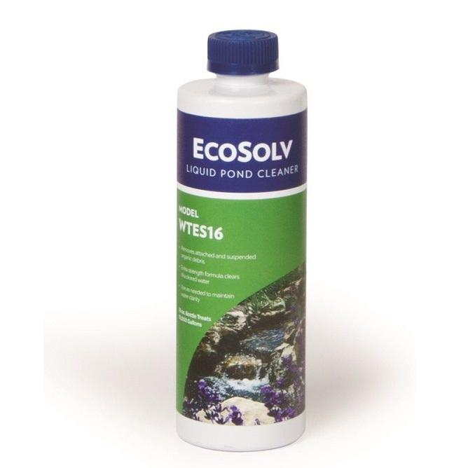 Atlantic Water Gardens EcoSolv Liquid Pond Cleaner, 16 Ounce Bottle