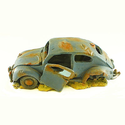 VW Beetle Car Aquarium Ornament