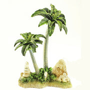 Palm Trees Aquarium Ornament