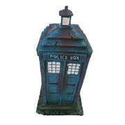 Police Call Box Dr. Who TARDIS Lookalike Aquarium Ornament