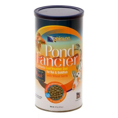 Zeigler Pond Fancier Cool Weather Wheat Germ Diet for Koi & Goldfish, 20 Ounces