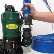 EasyPro Submersible Trash Pump with Discharge Hose