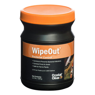 CrystalClear® WipeOut™ Bacterial Control, 8 Ounces