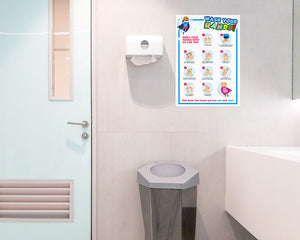 WASH ROOM POSTER