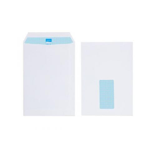 Initiative Envelope Pocket C5 Self Seal 90g White Window Pack 500