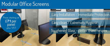 Load image into Gallery viewer, MODULAR GLASS SNEEZE SCREENS