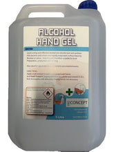 Load image into Gallery viewer, HAND SANITISER REFIL GEL 5LTR