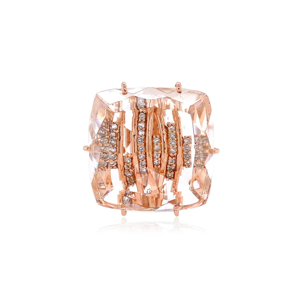 TRANSPARENZA Ring - Crystal / RG