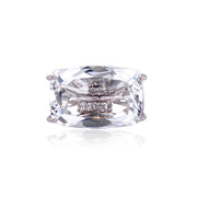 TRANSPARENZA Ring - Crystal / SS