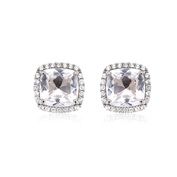 DEUX Earrings (1145) - Crystal  /  SS