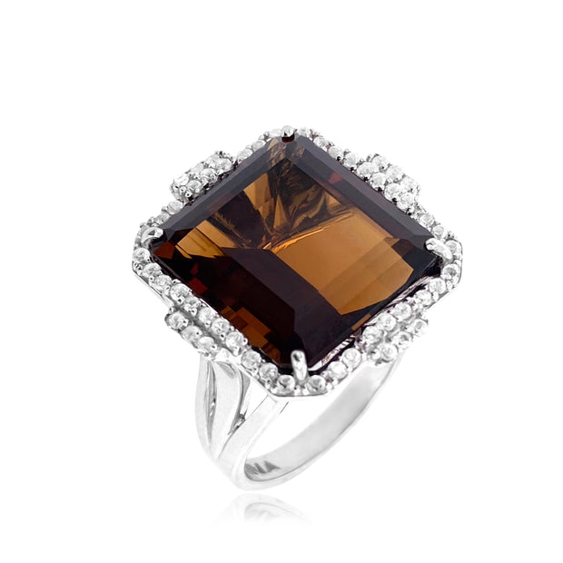 ECLECTIC Ring - Whisky Citrine / SS