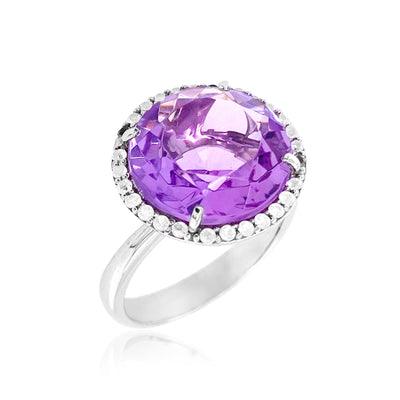 SIGNATURE Ring - Amethyst / SS