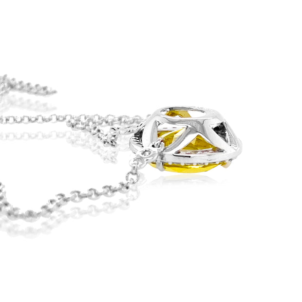 SIGNATURE Necklace - Lemon Citrine / SS