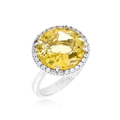 SIGNATURE Ring - Lemon Citrine / SS