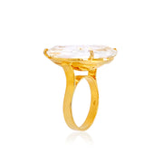 TRANSPARENZA Ring - Crystal / YG