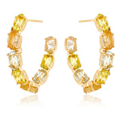 VILLA RICA Earrings - Mix Gemstones / YG