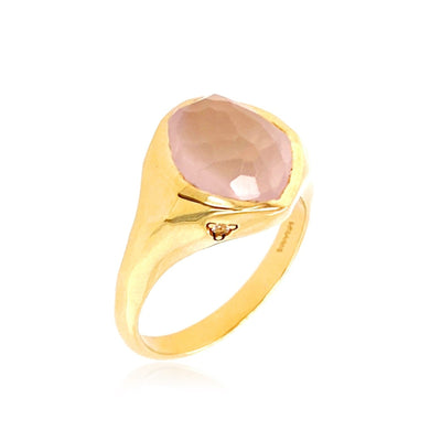 PANORAMA Ring -  Rose Quartz / YG