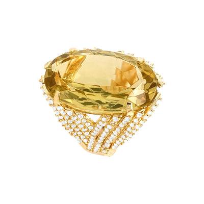 VILLA RICA Ring - Lemon Citrine / YG