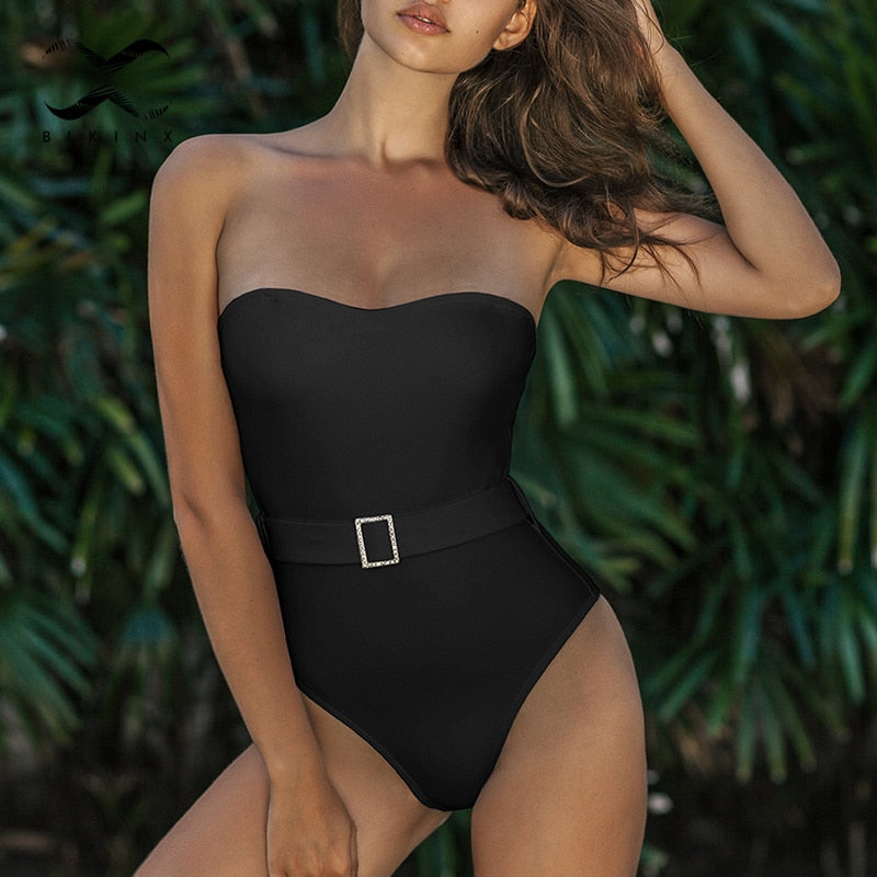 New For 2020 One Piece Suit Vintage Summer Beach Bathing Suit Monokini - SolBikini