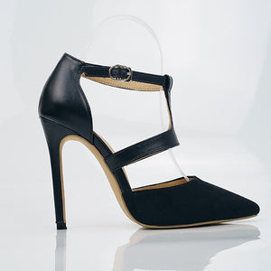 New 2020! Summer Fashion Sexy Casual Buckle High Heel Pumps - SolBikini