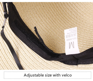 Summer straw panama beach hat bucket sun hats big brim UV protection 2020 - SolBikini