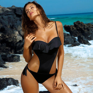 2020 One Piece Monokini Backless Bathing Suit - SolBikini