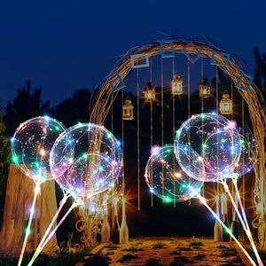 '-50% OFF Holiday Promotion- LED Light Balloon