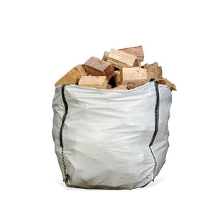 Seasoned Firewood Dumpy Bag (from £52.75/bag - 24 or 48 Units)