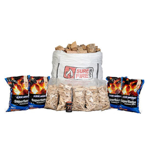 Smokeless Coal and Logs Deal (inc Kindling and Fire Starters)
