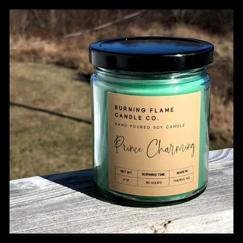 Prince Charming - Soy Wax Candle
