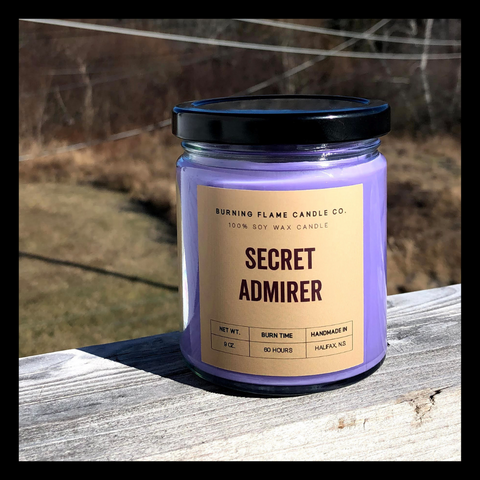 Secret Admirer - Soy Wax Candle