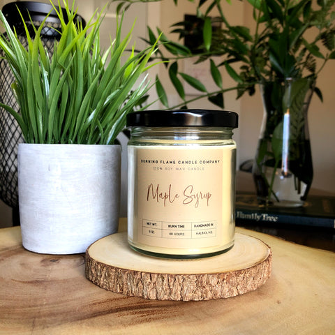 Maple Syrup - Soy Wax Candle