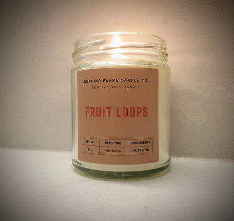 Fruit Loops - Soy Wax Candle