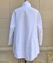 Long Diagonal Cotton Shirt