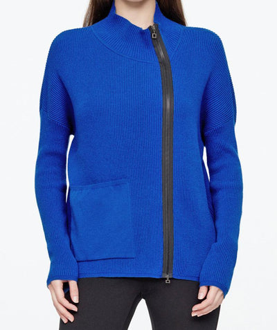 Zip up pocket cardi - Mary Walter
