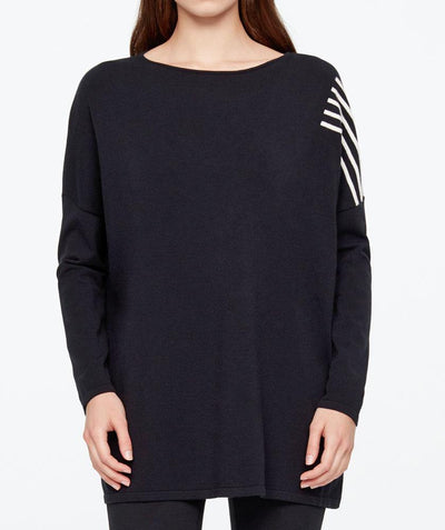 Stripe detail pullover - Mary Walter