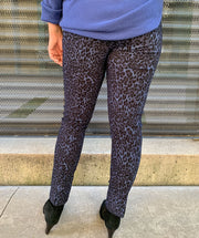 Wildcat pant blue & black combo