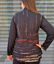 Shibori Jacket - Mary Walter