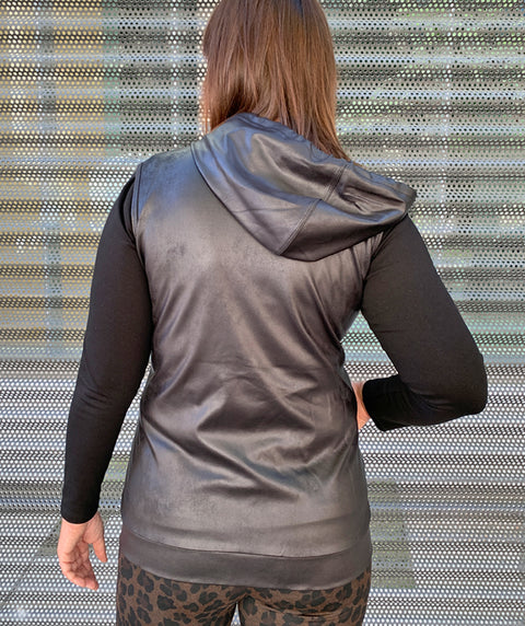 Liquid Leather Vest