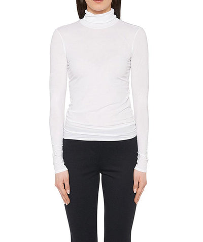 Babyskin Turtleneck White - Mary Walter