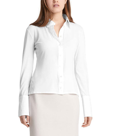 Babyskin blouse White - Mary Walter