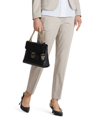 Essential polished cotton pant Sand
