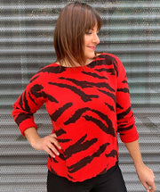 Well Red Sweater - Mary Walter
